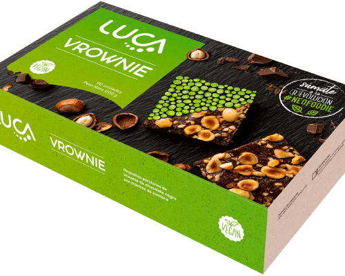 Brownie Chocolate Avellanas Vegano Sin Gluten