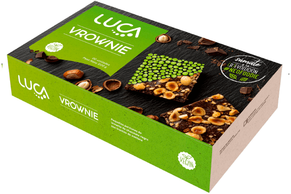 Brownie Chocolate Avellanas Vegano Sin Gluten