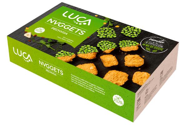 nuggets veganos sabor pollo LUCA