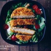vurger crujiente hamburguesa vegana sabor a pollo