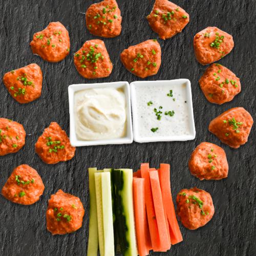 Receta de nuggets con salsa picante